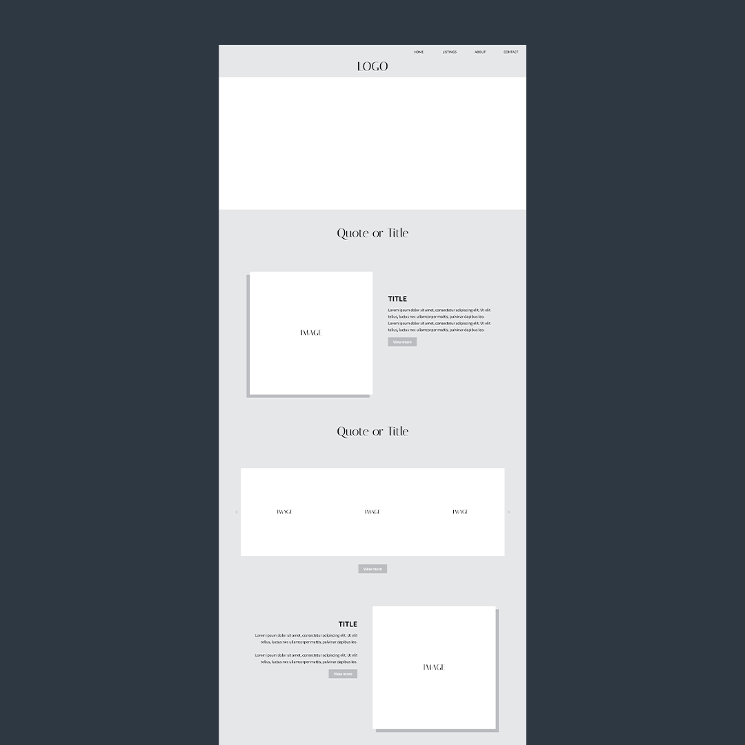 the business template in black and white